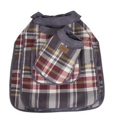Breslin Plaid Dog Coat