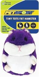 Tiny Tots Fat Hamster Purple