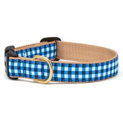 Navy Gingham Dog Collection