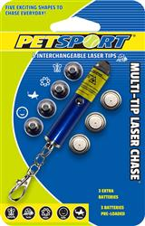 Multi-Tip Laser Chase