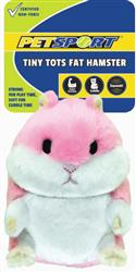 Tiny Tots Fat Hamster Pink