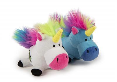GoDog Unicorn with Chew Guard Technology Small 2 Pack