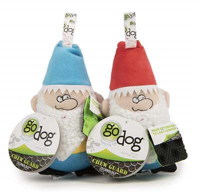 GoDog Gnomes with Chew Guard Technology Small 2 Pack