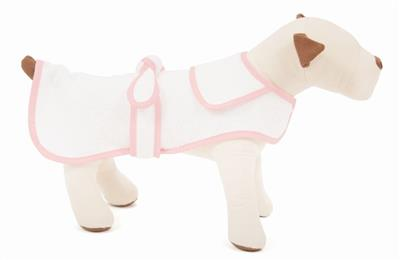 Pink Terry Cloth Bathrobe