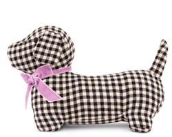 Gingham Hound Plush Toy