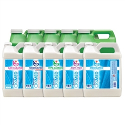 Oxy Med and iSmart Shampoos and Treatments by the Gallon