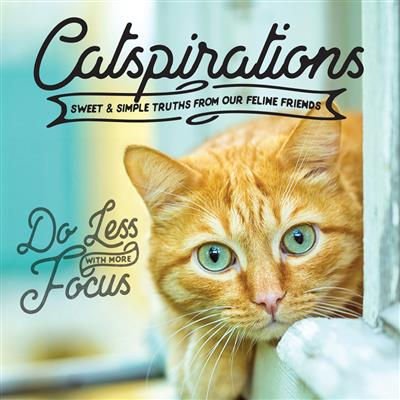 Catspirations; Sweet and Simple Truths From Our Feline Friends - Hardcover Book