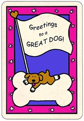 Crunch Card - Greetings/Great Dog