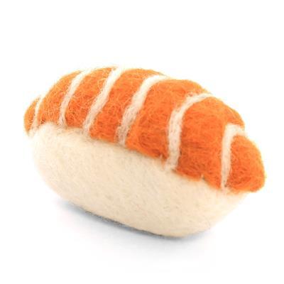 Sushi Cat Toy,  Salmon Nigiri