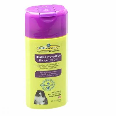 FURMINATOR HAIRBALL PREVENTION SHAMPOO FOR CATS 8.5OZ