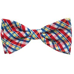 Preppy Plaid Bow Tie by Huxley & Kent
