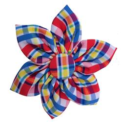 Preppy Plaid Pinwheel by Huxley & Kent