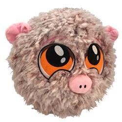 "7"" PETLOVE FUZZY BALL-PIG"