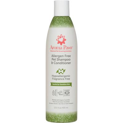 Mix & Match 13.5 oz bottles of Shampoo & Conditioner in One by  Aroma Paws Dog