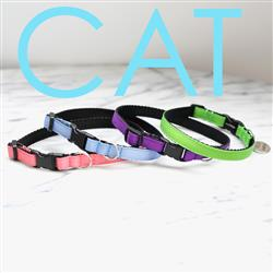 Ribbon Cat Collars -- 28 colors