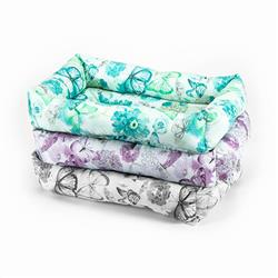 Bumper Beds - Floral Cotton Fabric