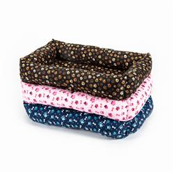 Bumper Beds - Paw Cotton Fabric