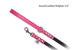 "BB  Leash ~ ""Luxury"" BB Hot Pink"