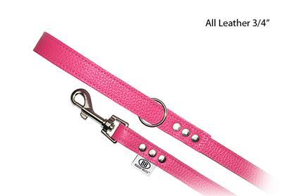 "BB  Leash ~ ""Luxury"" BB Hot Pink"