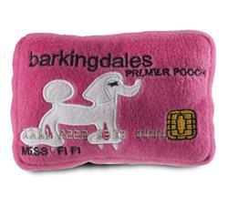 Barkingdales Credit Card Plush Toy