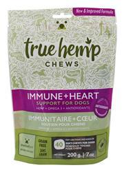 True Hemp Dog Chew Immunity Heart 7 oz.
