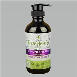 True Hemp Dog Oil Immunity Heart 8 oz.