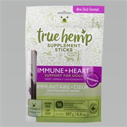 True Hemp Dog Stick Immunity Heart 6.6 oz.