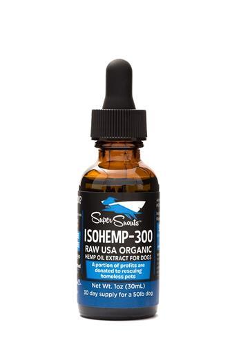 Super Snout Hemp Dog/Cat Iso PCR Oil 300Mg 1 oz.