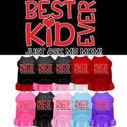 Best Kid Ever Screen Print Dress