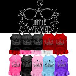 Little Wizard Screen Print Dress