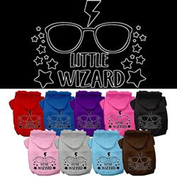 Little Wizard Screen Print Pet Hoodies