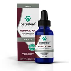 Pet Releaf - 200 MG CBD Hemp Oil (for small to medium-sized dogs)