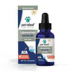 300 MG Active CBD Liposome Hemp Oil (for medium to large breed dogs) by Pet Releaf