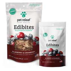 Edibites Immunity Boost Blueberry Cranberry by Pet Releaf
