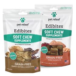 Edibites Soft Treat by Pet Releaf