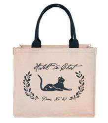 Large Hotel de Chat Eco Tote