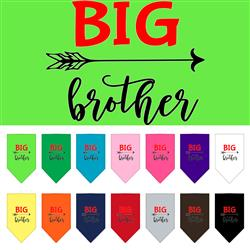 Big Brother Screen Print Pet Bandana