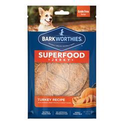Superfood Turkey Jerky w/Pumpkin, Sweet Potato & Carrot by Barkworthies