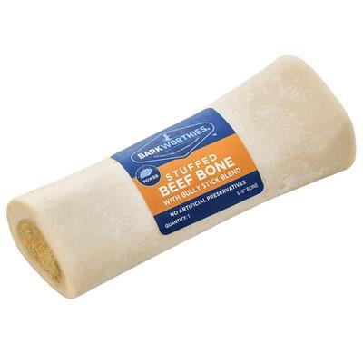 Stuffed Shin Bone w/Bully Stick by Barkworthies