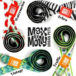 Max & Molly Classic Leash - FASHION COLLECTION - NEOPRENE