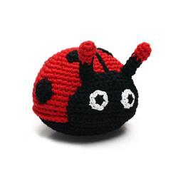 PAWer Squeaky Toy - Ladybug