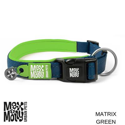 Max & Molly Matrix Collection, Sport Neoprene Collars with Smart ID Tag