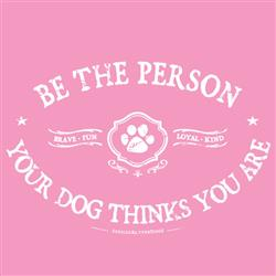 Be the Person - Ladies' V Neck T-shirt