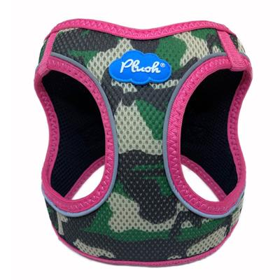 Camo / Pink Plush Step In Vest Air-Mesh Harness