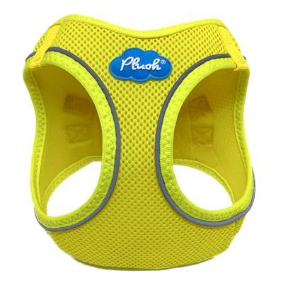 Blazing Yellow Plush Step In Vest Air-Mesh Harness