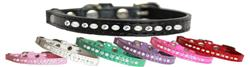 Pearl and Clear Jewel Cat Safety Collar