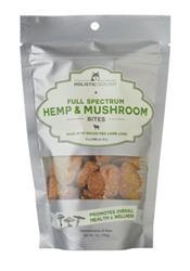 Full Spectrum Hemp and Mushroom Bites with Grass Fed New Zealand Lamb Liver, 7 oz bags (40 bites/bag)