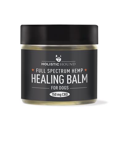 Full Spectrum Hemp Healing Balm For Dogs, 1 oz jar (150 mg CBD)