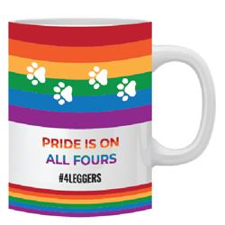 Pride on All #4leggers Coffe Mug -