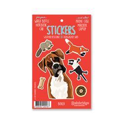 """Boxer - Sticker Sheet 4"""" x 6.50"""""""